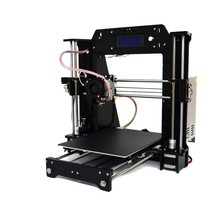 Acrylic Impresora Prusa I3 3D Printer 120mm s Printing Speed 1 75mm Material
