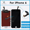 "10PCS/LOT A++++ Black & White Great Packaging LCD Front Digitizer Assembly Replacement for iPhone 6 4.7"" Display Free DHL Ship"