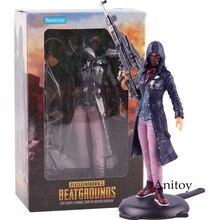 PUBG Playerunknows BattleGrounds Juego de batalla Loyale Girl Faith Suit Ver. Figura de acción Haocaitoy de PVC, juguete de modelos coleccionables