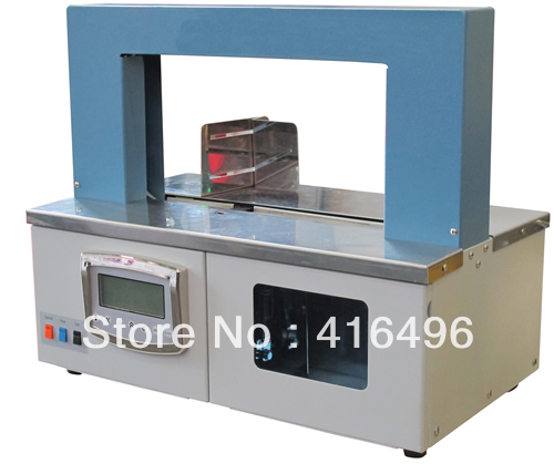 Semi automatic banding machine,strapping bander,package bandler equipment,SL01,OPP film,electrical packaging-money,paper,PCB