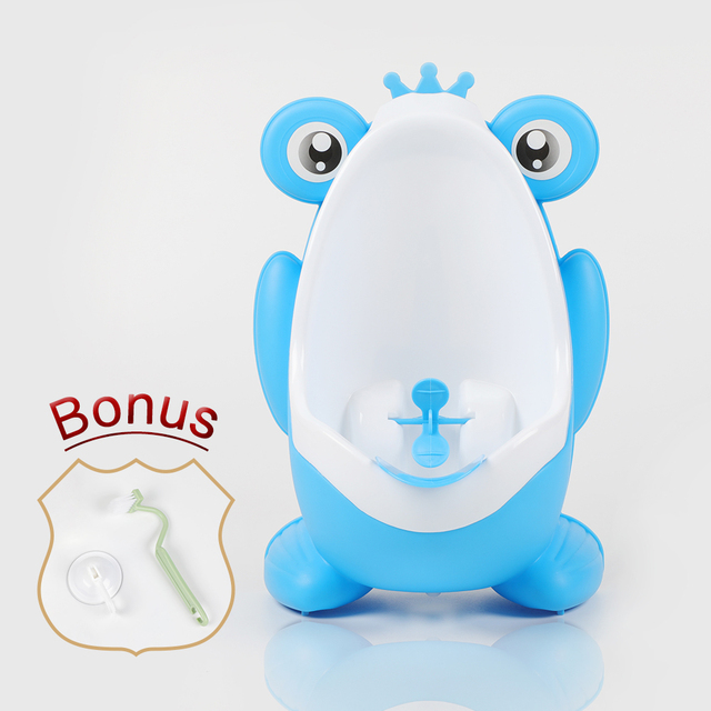 Baby Boy Wall-Mounted Hook Frog Potty Toilet Training Frog Stand Vertical Urinal Penico Pee Infant Toddler Bathroom Frog Urinal