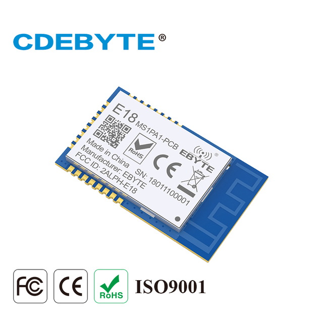 10pc/lot Zigbee Module CC2530 2.4GHz Wireless Transceiver E18 MS1PA1 PCB PA IoT Radio Transmitter and Receiver