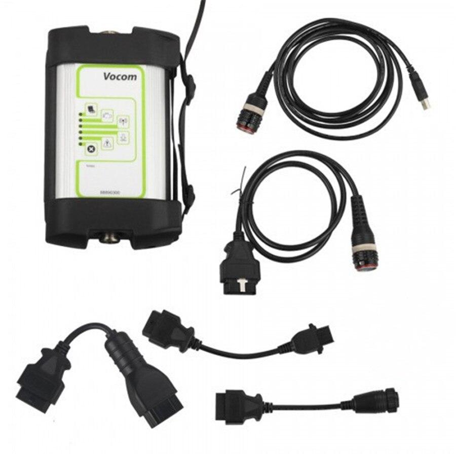 2018 Nova Interface VOCOM 88890300 Para Heavy Duty Truck Ferramenta de Diagnóstico DHL Frete Grátis