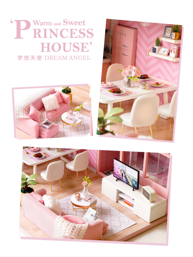 Dream Angels DIY 3D Dollhouse