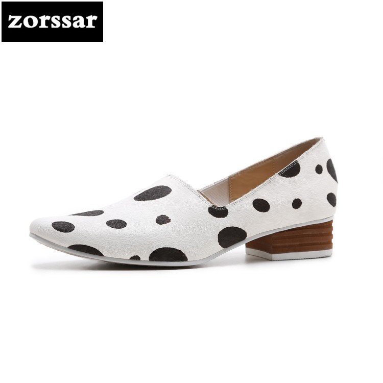 {Zorssar} 2018 New arrival fashion horse hair Leisure ladies shoes Comfortable low heel shoes pumps women pointed toe High heels pointed toe women low heel work shoes girls sweet strappy dress shoes ladies heel shoes femal comfortable wedding shoes h264