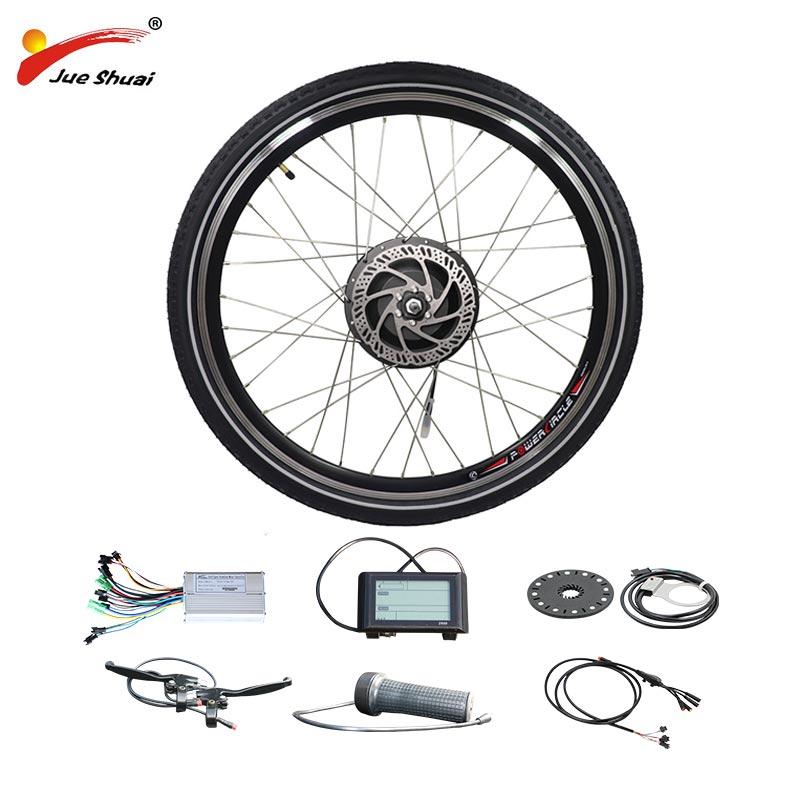 48 V 500 W 1000 W 1500 W vélo électrique moyeu sans brosse pour cassette roue libre arrière moteur roue vélo Ebike Kit vélo électrique