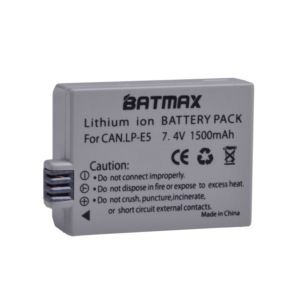 Chargers 1pc Usb Battery Charger For Canon Lp-e5 Eos 1000d 450d 500d Kiss F Kiss X2 Rebel Xsi Black New Accessories & Parts