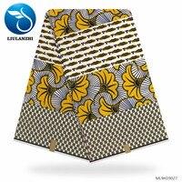 LIULANZHI Latest Ankara Fabric Wax For Dresses High Quality Real Wax Prints Fabric ML9H19027