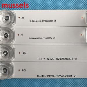 """Image 3 - LED شريط إضاءة خلفي ل LG 42 """"بوصة التلفزيون 8 مصباح 825 مللي متر جديد INNOTEK DRT 3.0 42"""" _ /B نوع 42LB5610 42LB5510 42LY320C 42GB6310 8 قطعة/الوحدة"""