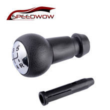 цены на SPEEDWOW 5 Speed Manual Transmission Gear Shift Knob With Sleeve Adapter Lever For Peugeot 106 206 306 406 806 107 207 307  в интернет-магазинах
