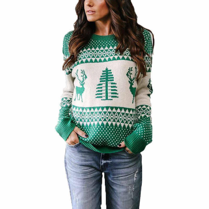 386e352af2 Unisex Men Women 2018 Ugly Christmas Sweater Vacation Santa Elf Pullover  Funny Womens Men Sweaters Tops