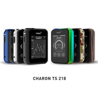 Original Smoant Charon TS 218W TC Touch Screen Box Mod 510 Thread 18650 For RTA RDA