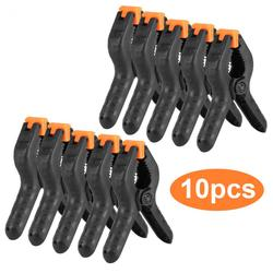 10 Uds. 2 pulgadas 3 pulgadas 4 pulgadas abrazadera de resorte de carpintería abrazaderas de madera de plástico en forma de A
