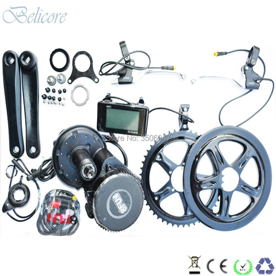 BB 100mm BB 120mm BB 68mm Bafang BBS01 36 V 250 W bafang mi moteur d'entraînement kits avec C965 LCD
