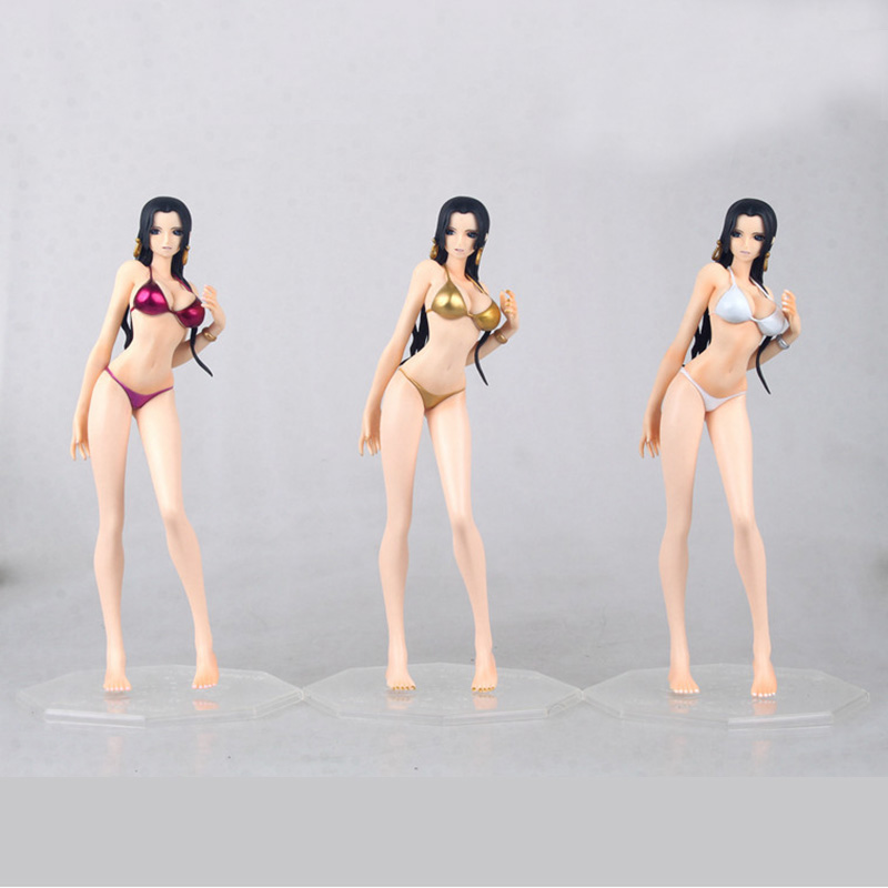 Pop one piece Swimsuit Boa Hancock Action Figure 22cm sexy princess Pvc Figures Collection model new Toy for Children Doll gift