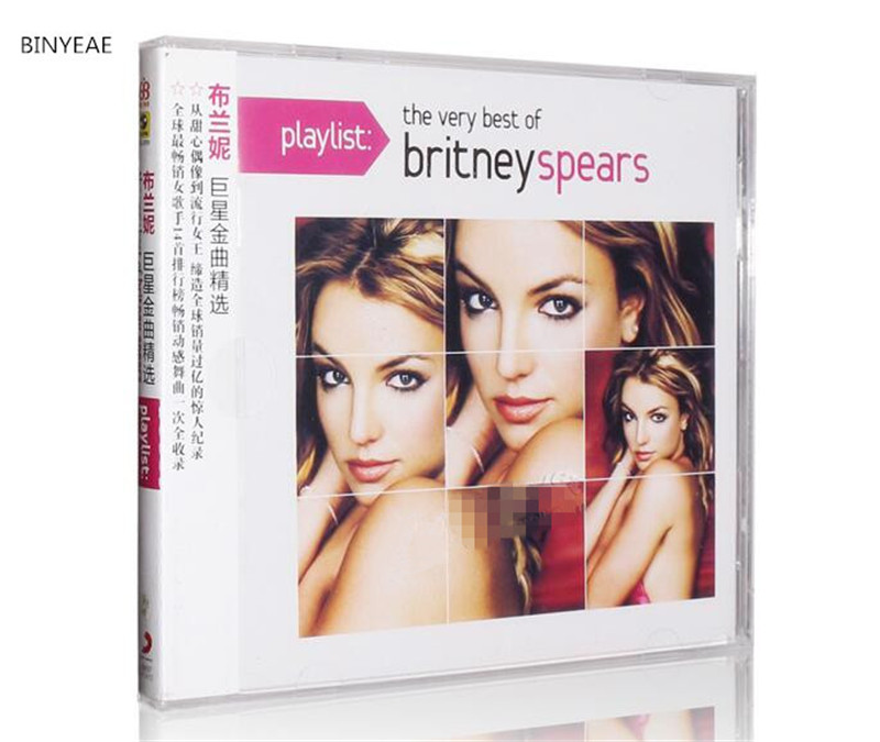 Free Shipping: Britney Spears featured songs Europe and the United States pop music CD seal