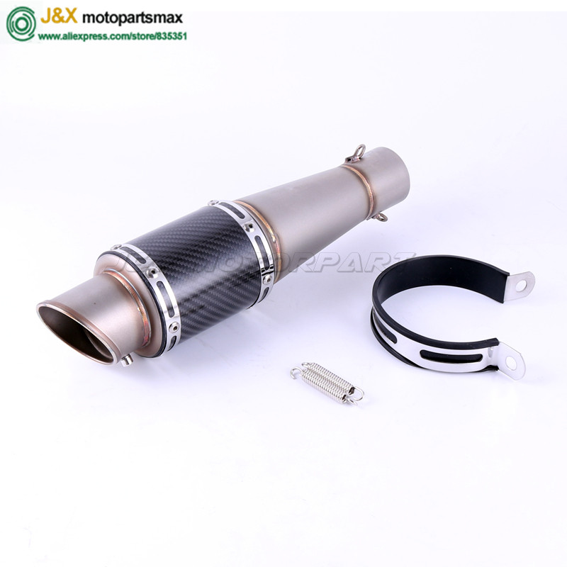 Universal 36-51mm Motorcycle dirt bike exhaust escape Modified Scooter Exhaust Muffle Fit for most motorcycle ATV