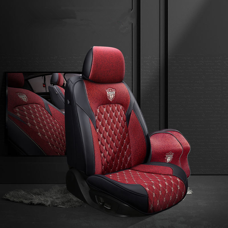 Car Seat Cover General Cushion Car Styling For Audi A1 A3 A4 B8 B7 B6 B5 A6 C6 C7 A8 A8L Q3 Q5 Q7 Car pad