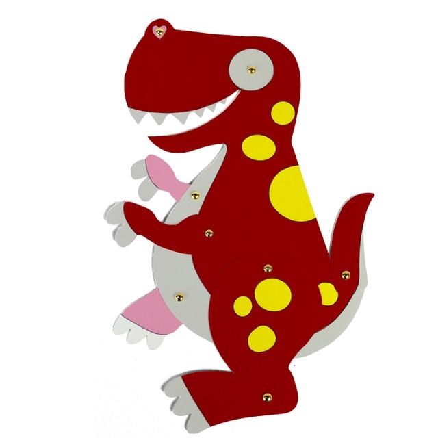 I Bambini Disegnare Dinosauro Cartone Pittura Fai Da Te Decorazione