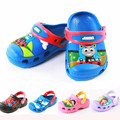 2015 мультфильм высокое качество дети пляжные сандалии новый мужской дети мальчики девушки сандалии детские обувь