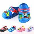 2015 dibujos animados alta calidad niños playa sandalias nuevo Unisex niños sandalias de los muchachos zapatos calzado infantil