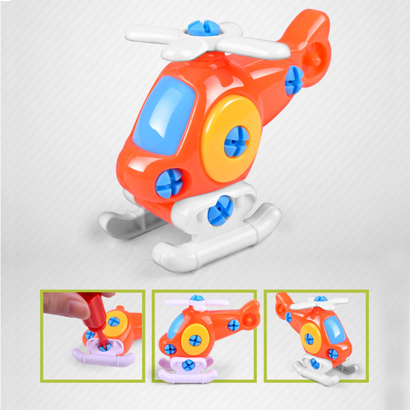 Children-Train-Car-Toy-DIY-Disassembling-Plane-Car-Building-Blocks-Model-Tool-with-Screwdriver-Assembled-Educational-Toys-YH-17-4