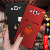 2017 HD For Samsung Galaxy A8 A8000 Case MCWL Colored Drawing Soft TPU Individuality Back Cover