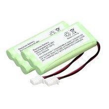 new arrival 2 pack walkie talkie battery 3.6 V 500 mAh Home Phone Battery For for Vtech CPH-517J BT-5872
