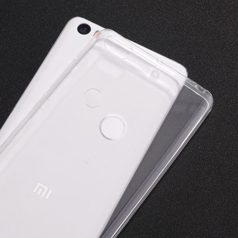 the latest 2832d 33081 US $1.39 30% OFF|Xiaomi Mi Max 2 Case Cover 0.6mm Ultrathin Transparent TPU  Soft Cover Phone Case For Xiaomi Mi Max Back Cover Case-in Half-wrapped ...