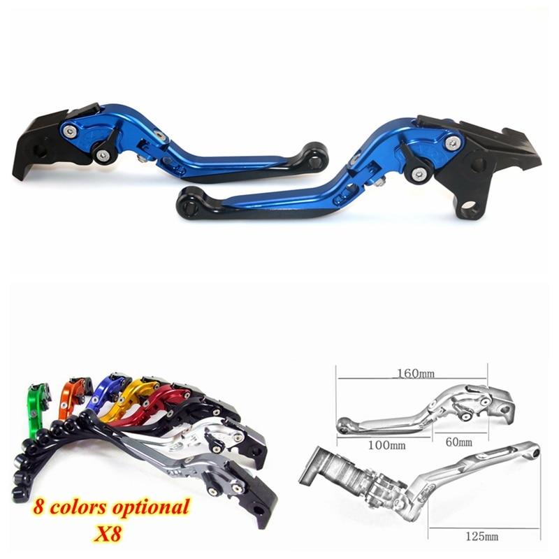 Motorcycle Accessories CNC Aluminum Folding Extendable Brake Clutch Levers for YAMAHA FZ1 FAZER 2001-2005