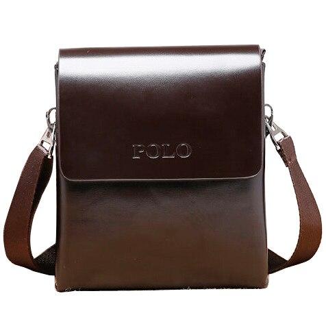 2016 New Men's Leather Bags  Fashion Brand Mens Messenger Bag Quality Small Travel Crossbody Handbag for Man XB113