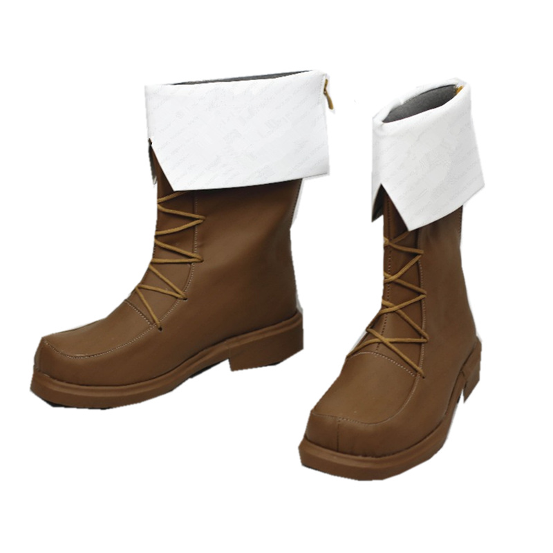 Image 2 - Sword Art Online Alicization Eugeo Kirito Cosplay Boots Anime Shoes Custom MadeShoes