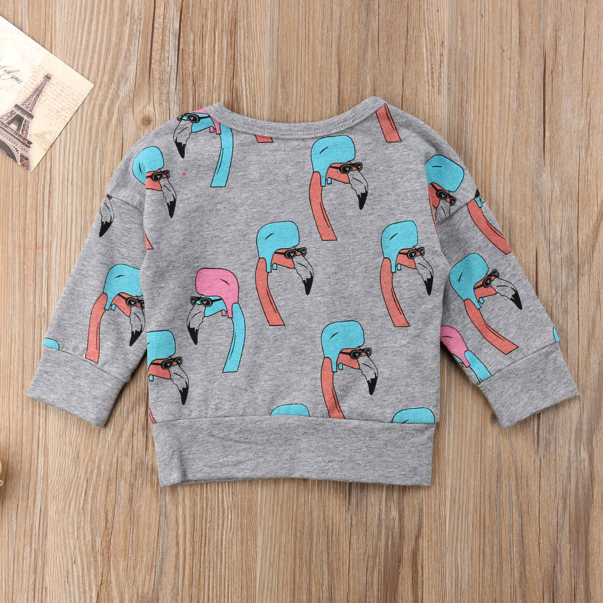 Arvore De Natal Real Full Tops New Baby 6m-5y Sleeve Autumn Flamingo Grey Brand Helm Toddler Sweatshirts Spring 2018 Outfit