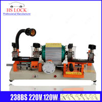 238BS key cutting machine 220v 120w auto key duplication machine car key locksmith tools