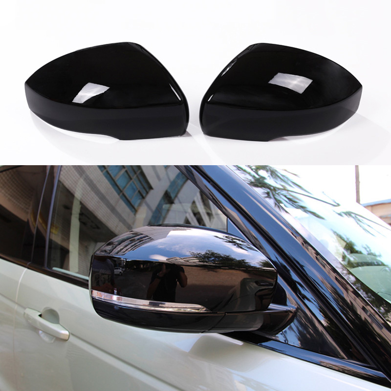 Rearview Mirror Cover-2PCS Rearview Side Mirror Wing Cover Mirror Trim Caps Decoration Fit for Range Rover Evoque 2020