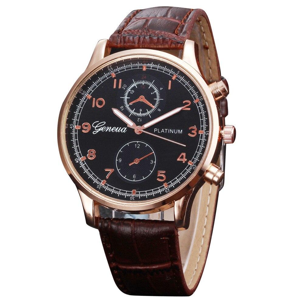 OTOKY 2018 Fashion Unisex Women Man Band Analog Quartz Business Wrist Watch Geneva Simple Causal Wport Watches JANN01