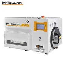 M-Triangel изогнутый экран OCA вакуумный ламинатор и машина для удаления пузырей ламинатор и дебюблер для ремонта ЖК-экрана