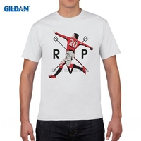 GILDAN Men S Short Sleeve T Shirt Robin Van Persie Fenerbahce Netherland Holland 100 Cotton T