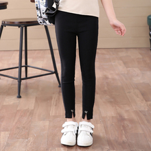 Girls Pants Kids Pant Girl Trousers For Children Autumn Wear Cotton Pants School Teens Casual Leggings GH460