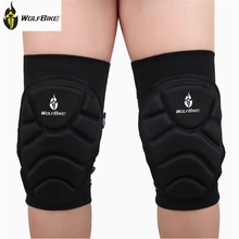 WOLFBIKE Sports Outdoors Safety Protection Knee Pads Extreme Sports Kneepads Football Cycling Knees Protective Cover Protector