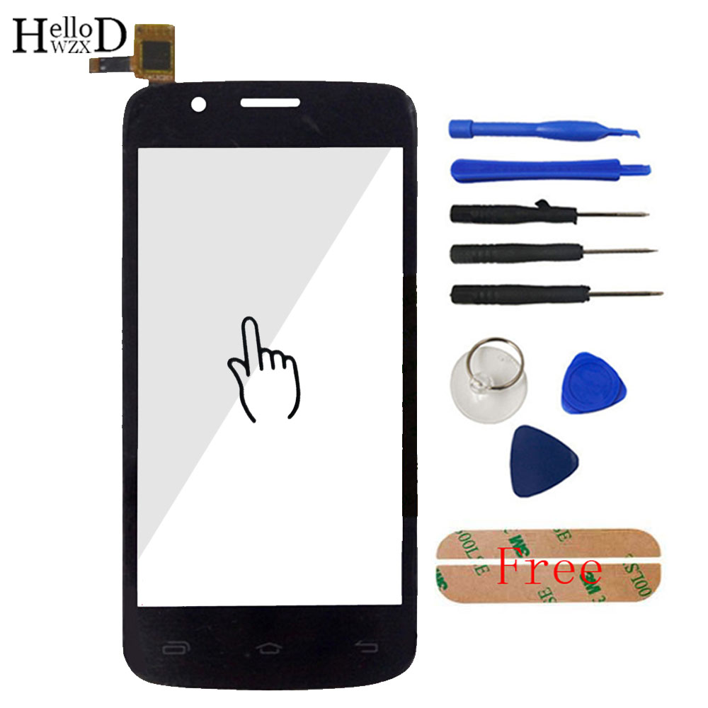 5.0 Mobile Touch Glass For Prestigio MultiPhone PAP5504 PAP 5504 Duo Front Screen Digitizer Panel Lens Sensor Tools Adhesive