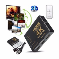 HDMI 5 To 1 Switch 4K 2K 3840 2160P HDMI Switcher Splitter 5 Port HDMI Splitter