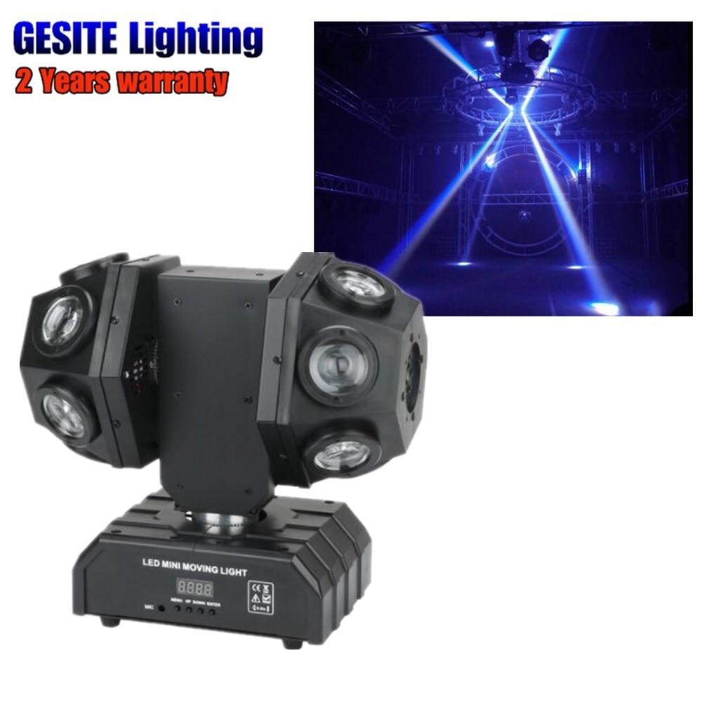 Rotatable 12Heads 10W Moving Head Lights RGBW DMX Stage Lights Dj