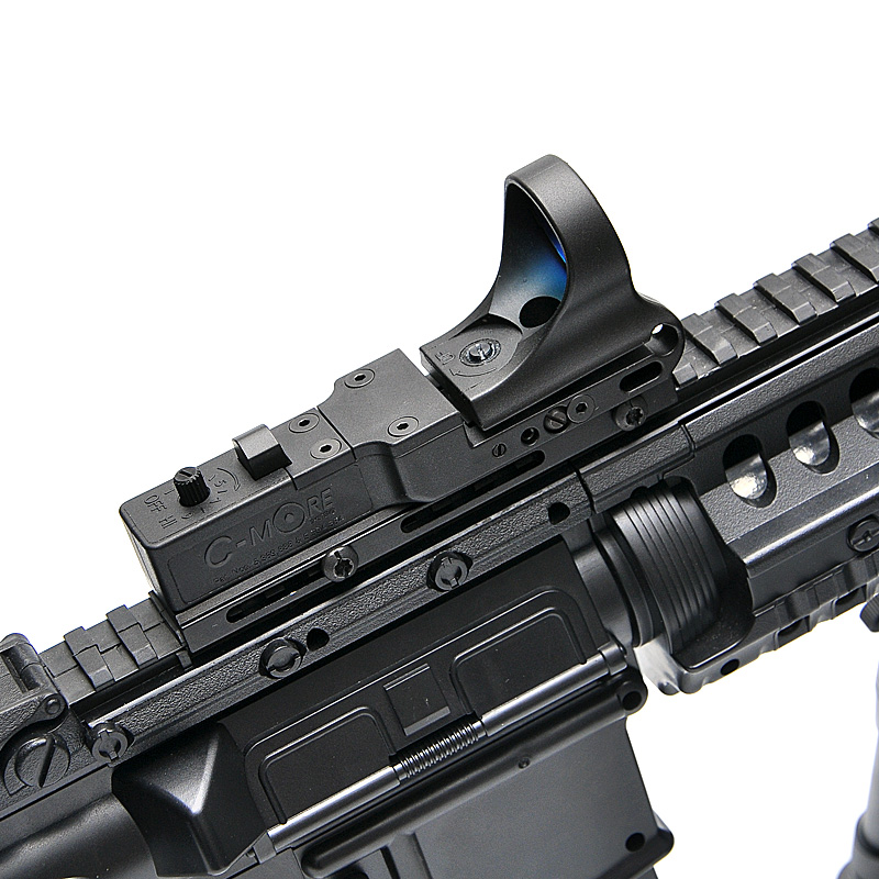 New Tactical Red Dot Sight  EX 182 Element SeeMore Railway Reflex Sight C-MORE  Red&Green Illumination Scope For Airsoft