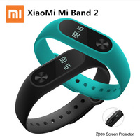 Stocked Original Xiaomi Mi Band 2 MiBand 2 Smartband Wristband Bracelet Heart Rate Fitness Tracker OLED
