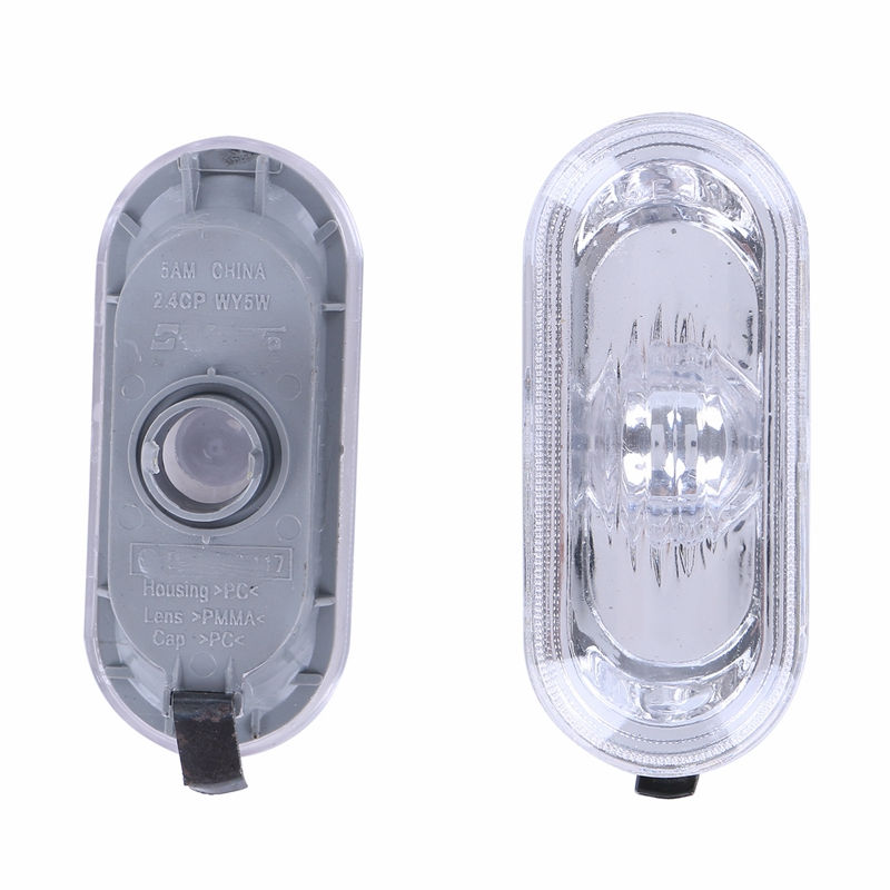 2X Side Marker Light Repeater Indicator Turn Signal Light Lamp For VW Golf Jetta MK4 1997-2004 Passat B5 B5.5 Car Styling beler car grey interior dome reading light lamp itd 947 105 fit for vw golf jetta mk4 bora 1999 2004 passat b5 1998 2005