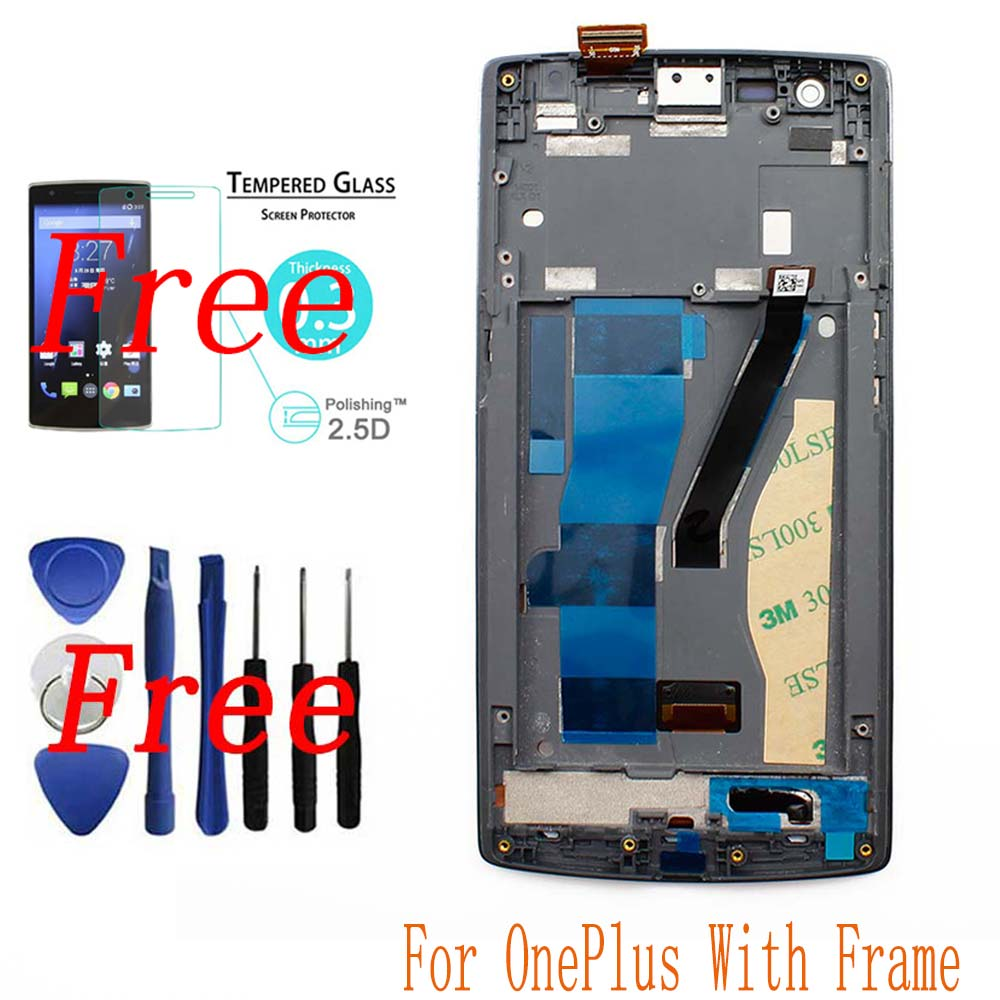 New For Oneplus One 1 A0001 LCD Display font b Touch b font font b Screen