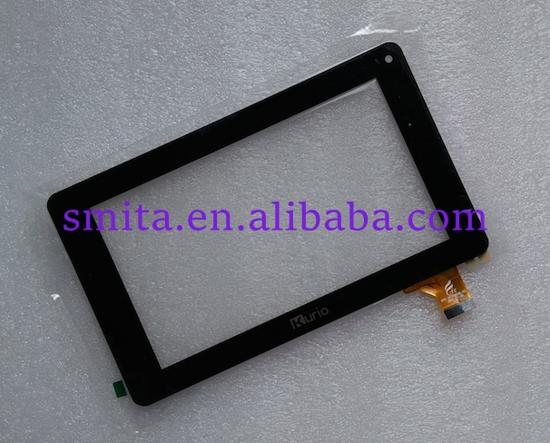 7 inch Tablet Touch Kurio Touch Screen Digitizer Glass panel Replacement FCP-FC70S596-02 192x114.5mm black