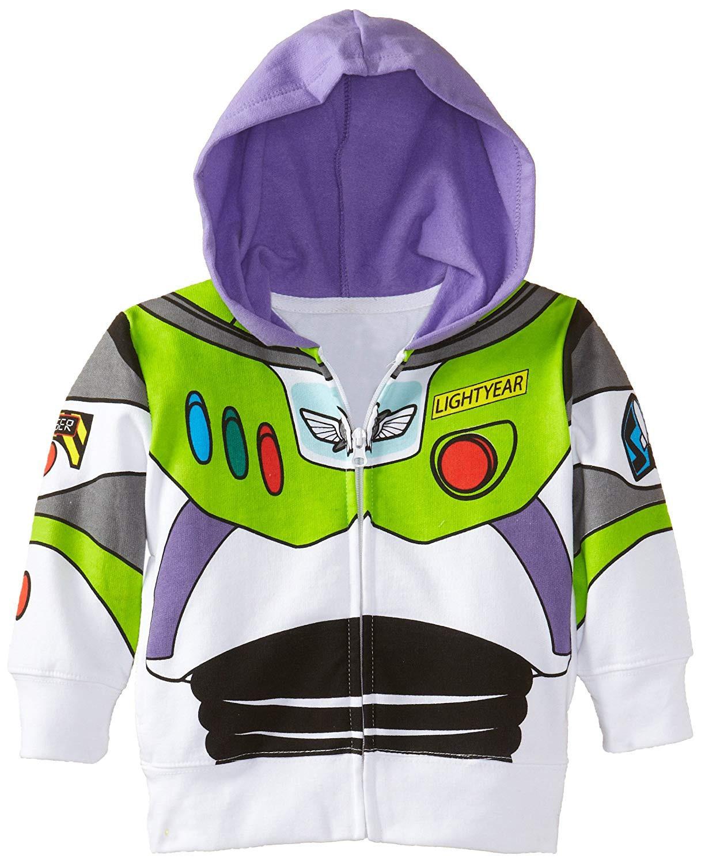 Toy Story Buzz Lightyear Hoodie Costume Sweatshirt Zipper Jacket Cosplay Coat