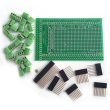 цена на High Quality New 2019 Prototype Screw/Terminal Block Shield Board Kit For MEGA-2560 R3 Hot Sale